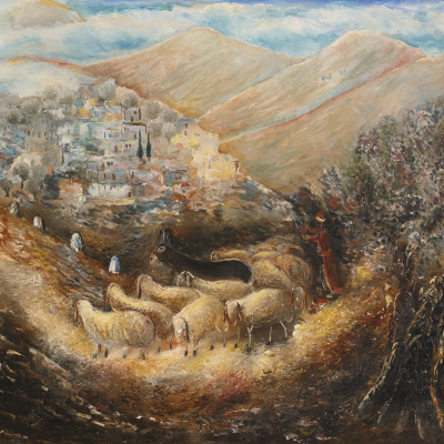 The road to Galilee (Tzfat)