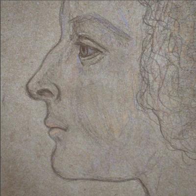 Christina Steinberg. Woman's head
