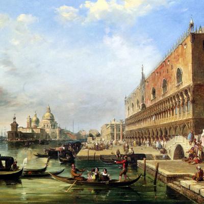 Santa Maria della Salute from the Doge's Palace in Venice