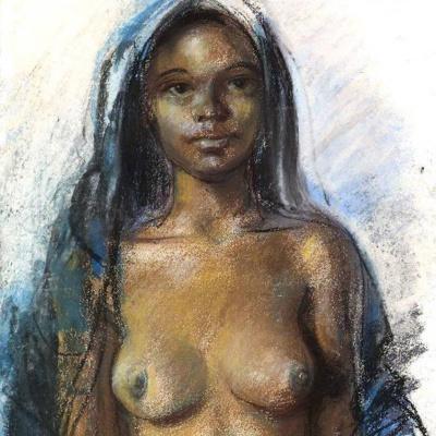 Moroccan girl. Marrakech