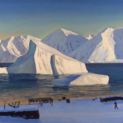 Начало ноября. Северная Гренландия
