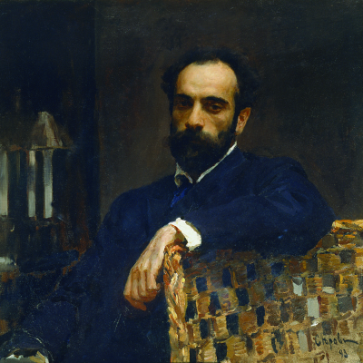 Portrait of the artist I. I. Levitan