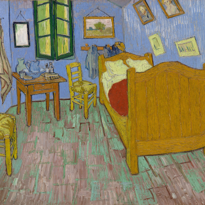Bedroom in Arles (second version)