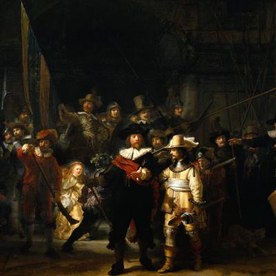 Ночной дозор, или Выступление стрелковой роты капитана Франса Баннинга Кока и лейтенанта Виллема ван Рёйтенбюрга