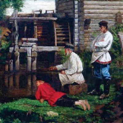 Рыболовы. 1890-е