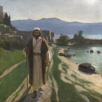 Василий Дмитриевич Поленов. Решил идти в Иерусалим