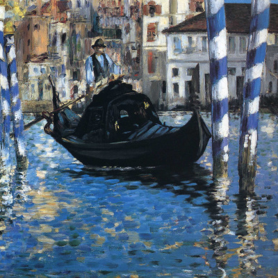 The Grand Canal of Venice (Blue Venice)