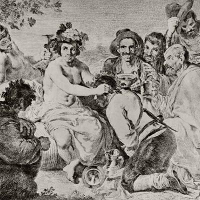 Триумф Вакха, с картины Веласкеса