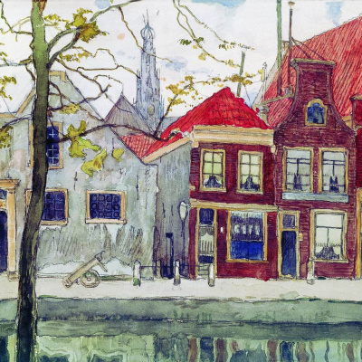 Channel. Haarlem. 1910