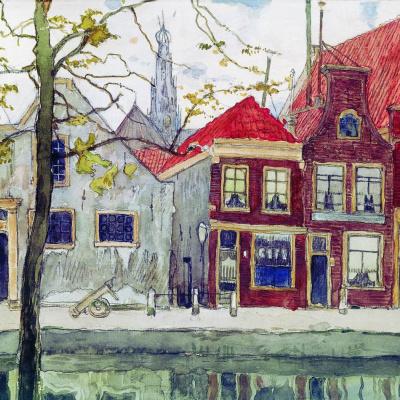 Channel. Haarlem. 1910