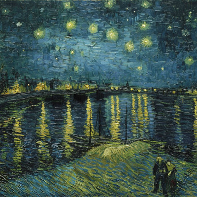 The Starry Night Over the Rhône