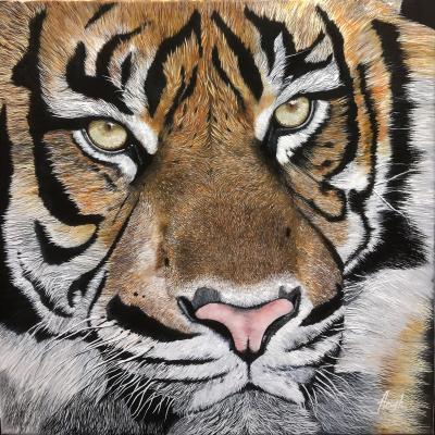 Anush iazulian. Tiger