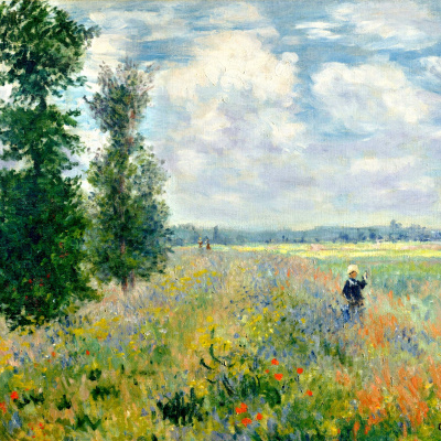 Field of poppies, Argenteuil