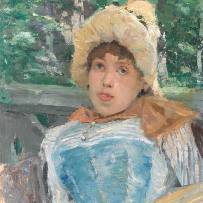 Portrait of a chorus girl