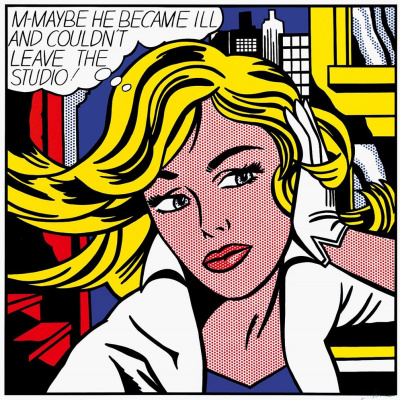 Roy Liechtenstein. Miss Meyb