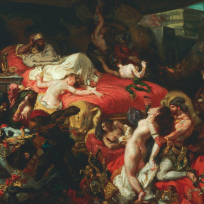 II the death of Sardanapalus (1844)