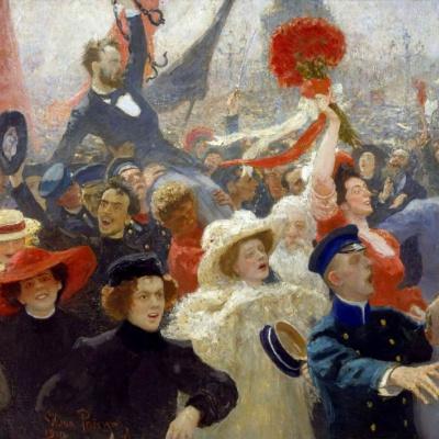 Манифестация. 17 октября 1905 года