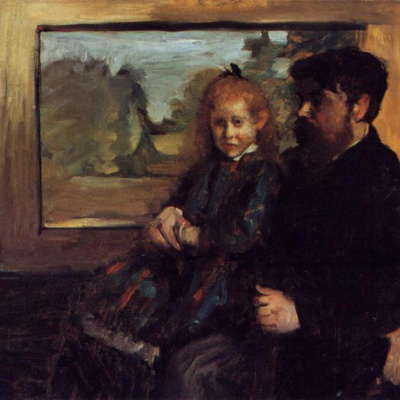 Henri Ruard and his daughter Helen