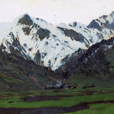 В Альпах весной