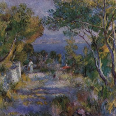 Landscape in l'Estaque