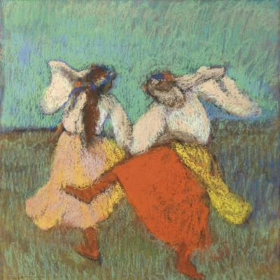 Две русские танцовщицы