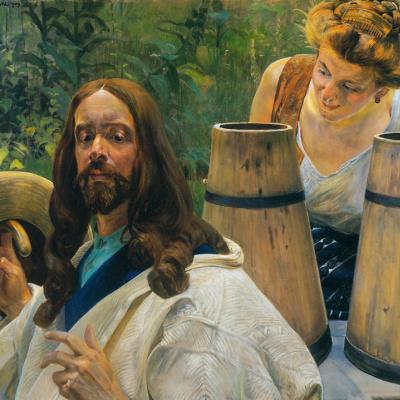 Christ and the Samaritan woman 1