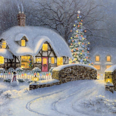 Christmas in the cottage