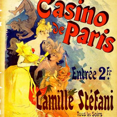 """Рекламный постер """"Casino de Paris"""""""