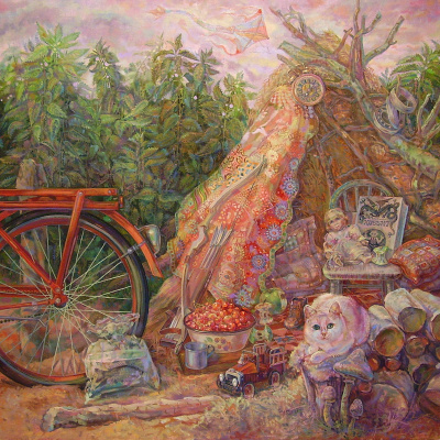 Снежана Казимировна Витецкая Viteckaja. The hut
