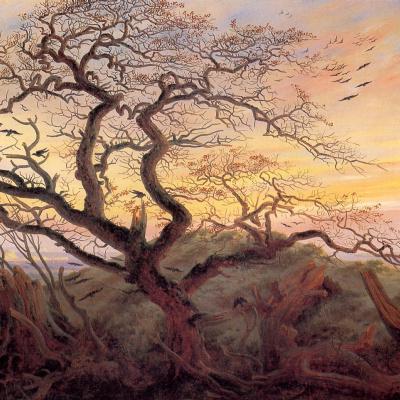 Дерево с воронами