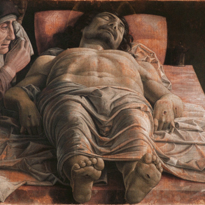Dead Christ (lamentation over the dead Christ)