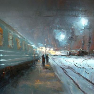 Night platform
