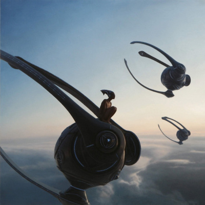 Gennady Ulybin. Above the clouds