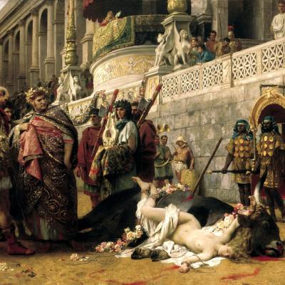 Христианская Дирцея в цирке Нерона