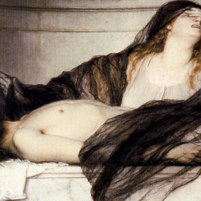 Мария Магдалена, оплакивающая Христа