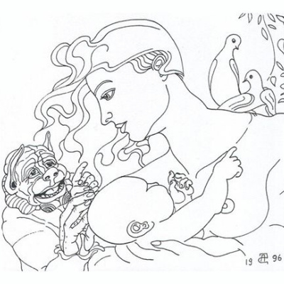 Madonna with the devil - Мадонна с чёртом