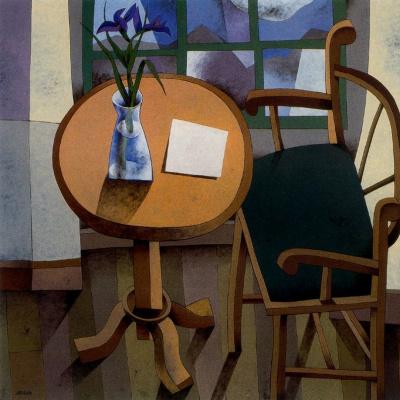 Мануэль Сьерра. Стол с вазой