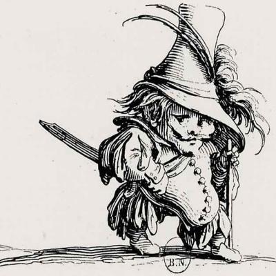 Dwarf in the high hat