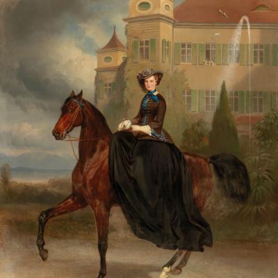 Елизавета Баварская, будущая императрица Австрийская