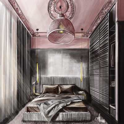Anna ANDREI. Interior illustration