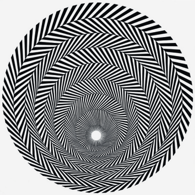Bridget Riley. Flames 4