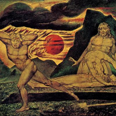 Адам и Ева находят тело Адама