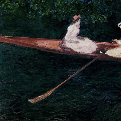На лодке по реке Эпт