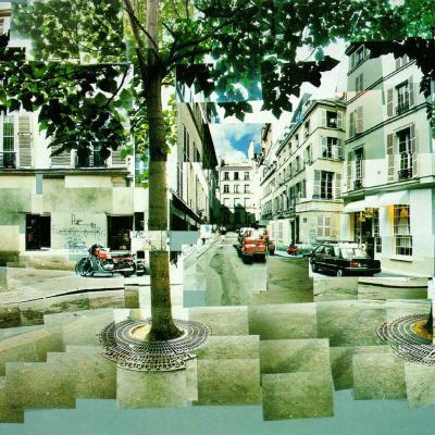 The Area Of Fürstenberg. Paris. 7-9 Aug