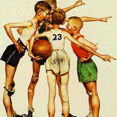 Четыре чемпиона. Баскетбол