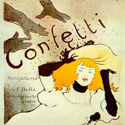 Конфетти, постер