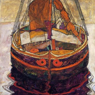 Рыбацкая лодка в Триесте