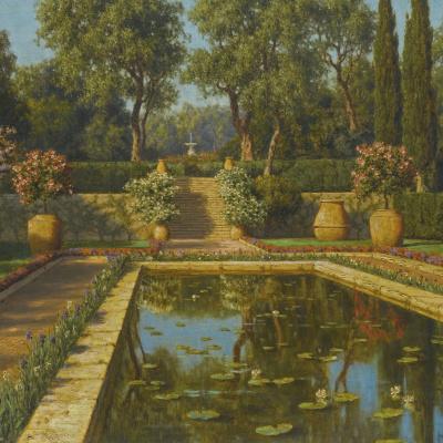 Ницца. Цветущий сад