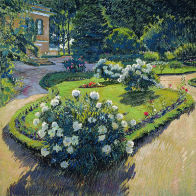 Sergey Arsenievich Vinogradov. Garden in autumn