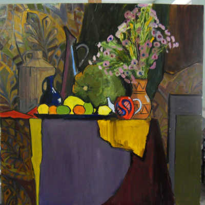 "Decorative still life ""Autumn"""